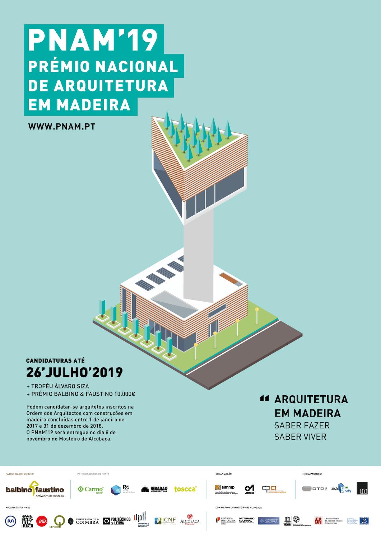 Prémio Nacional de Arquitetura em Madeira 2019