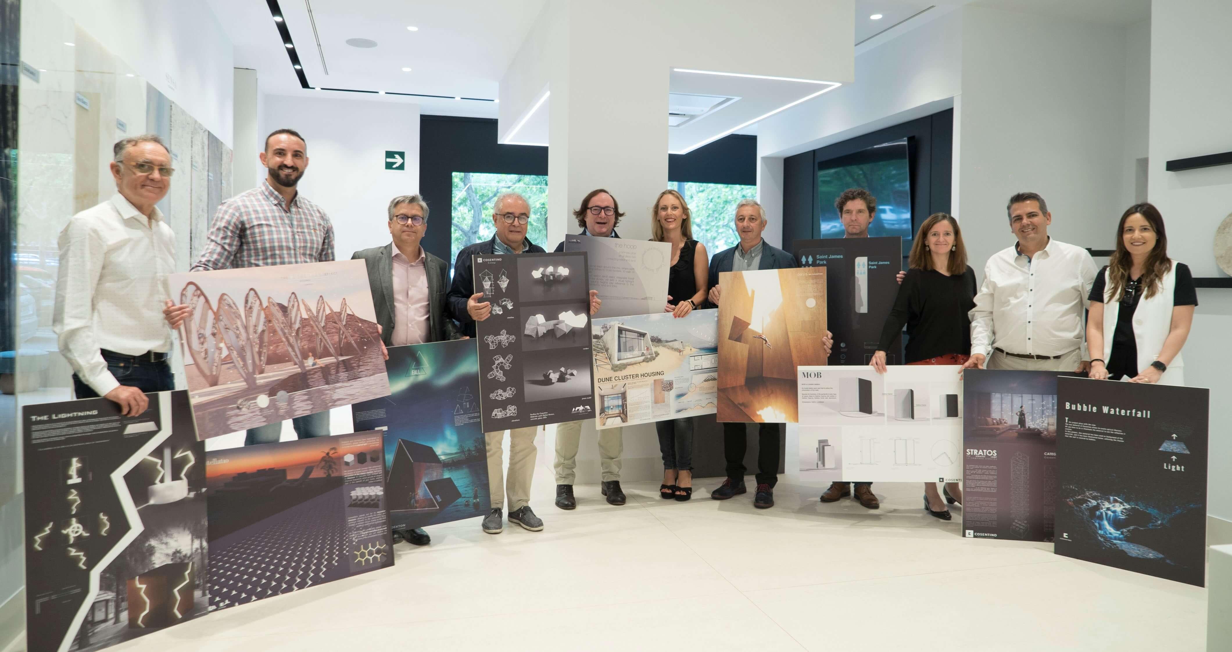 Portugueses em destaque na 13ª edição do concurso internacional Cosentino Design Challenge