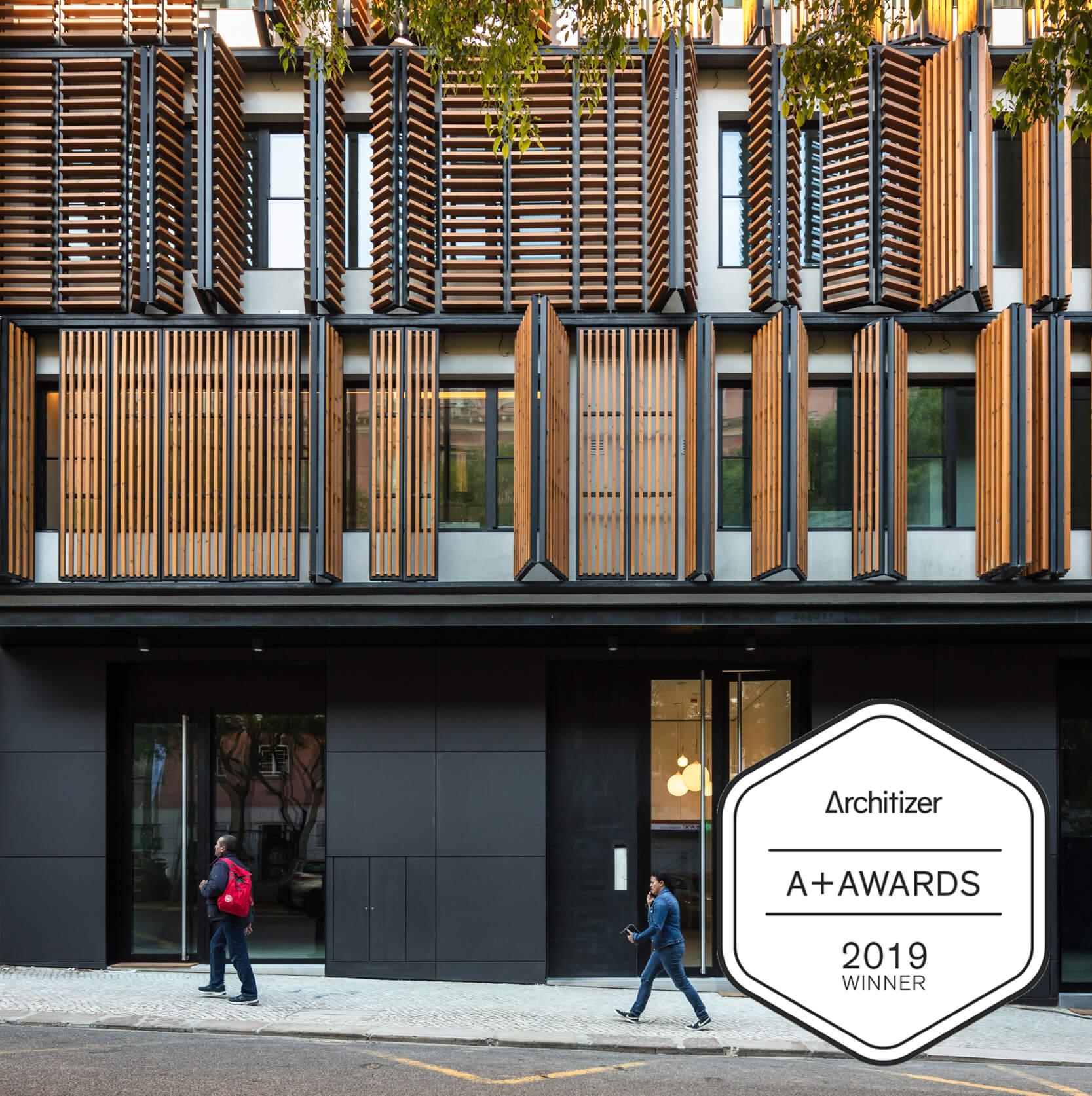 Plano Humano Arquitectos vence Prémios Architizer 2019