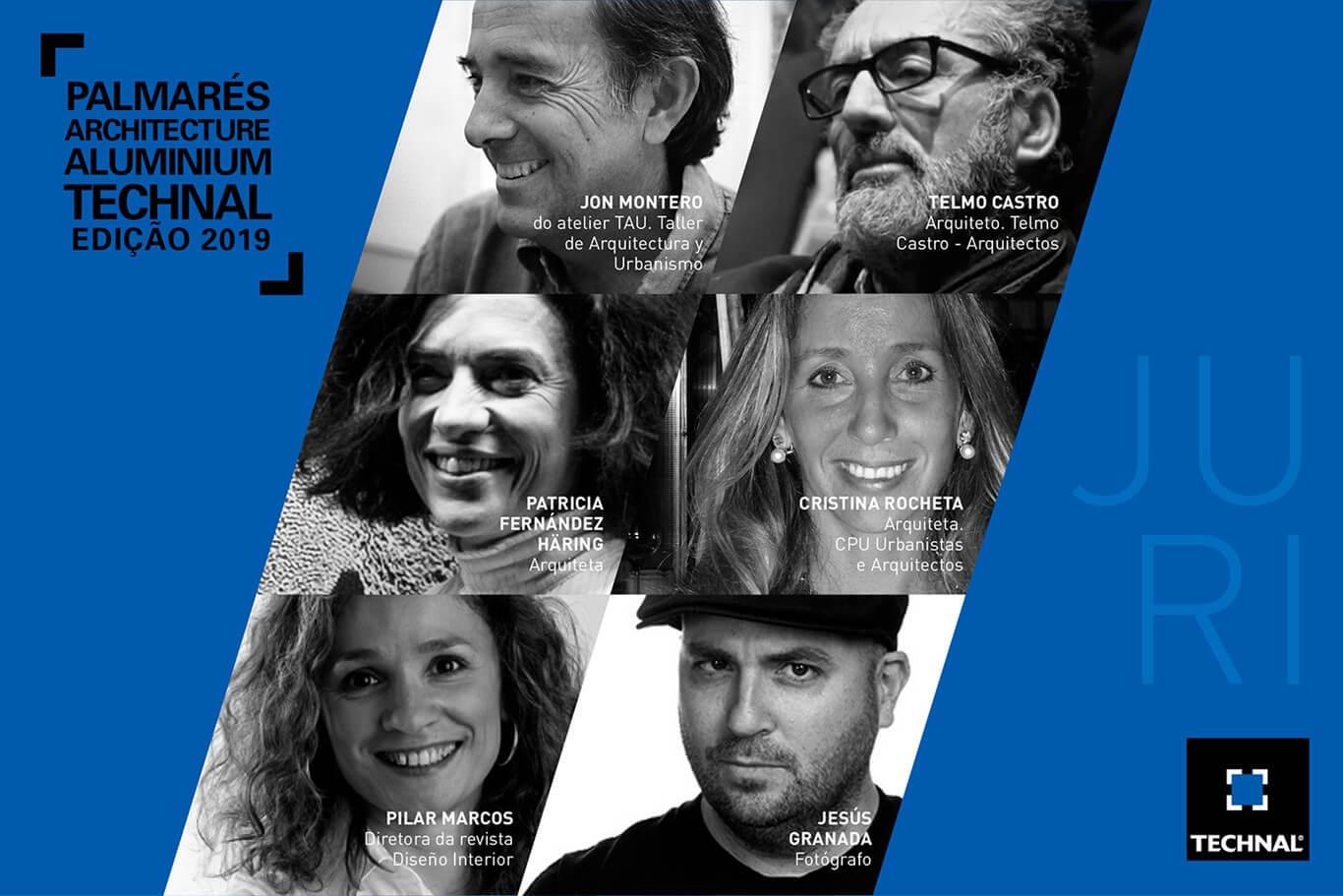 Palmarés Architecture Aluminium Technal já tem júri para a edição de 2019