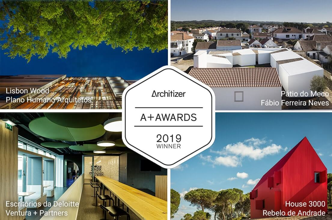 Quatro projectos portugueses vencem prémios Architizer 2019