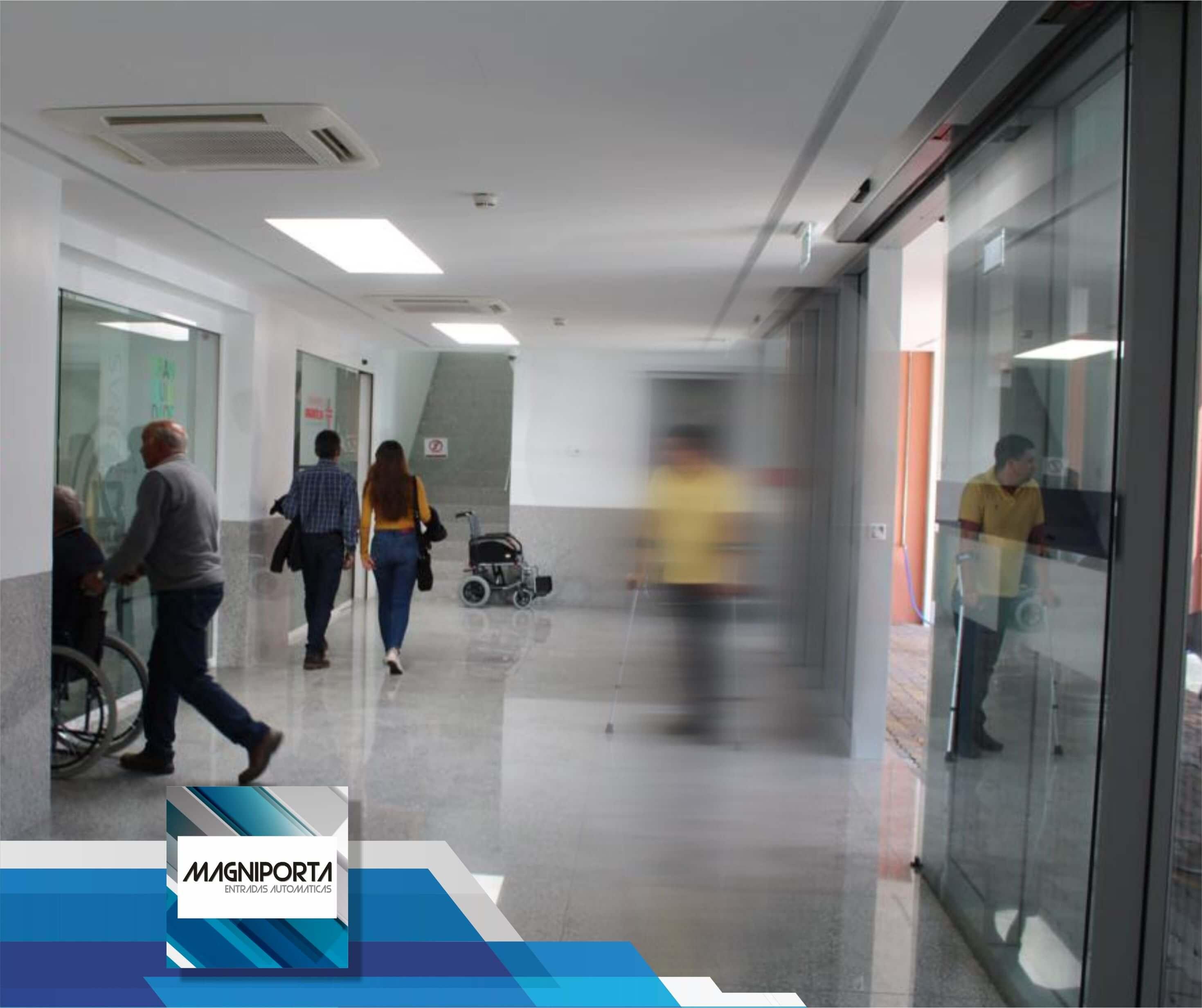 Portas Automaticas Magniporta Clinicas e Hospitais