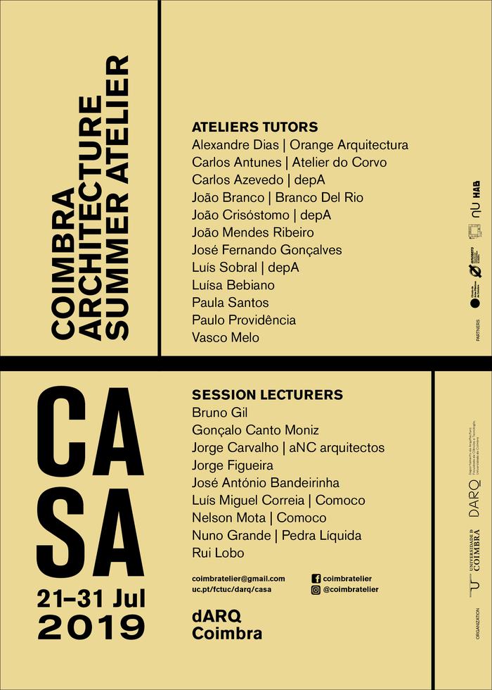 CASA – Coimbra Architecture Summer Atelier