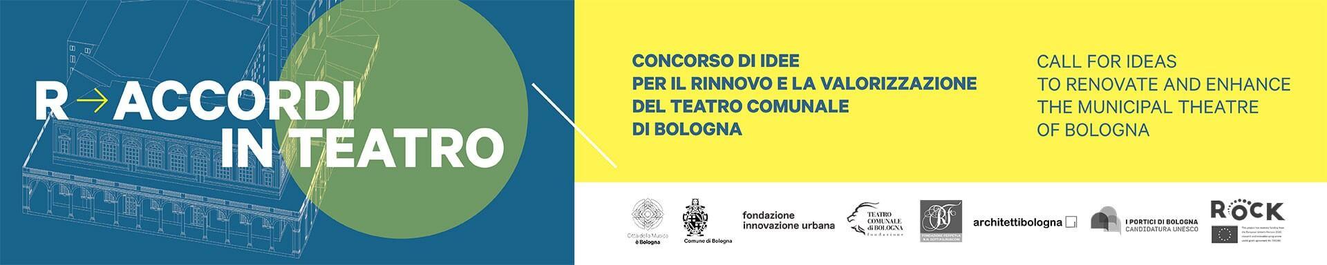 Requalificação do Teatro em Bolonha . Itália