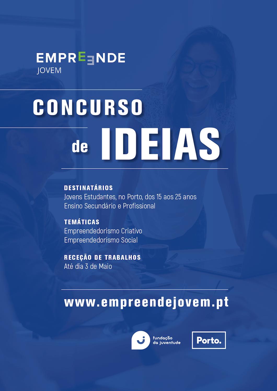 Concurso de ideias JOVEM EMPREENDE @ PORTO – 2ª Edição