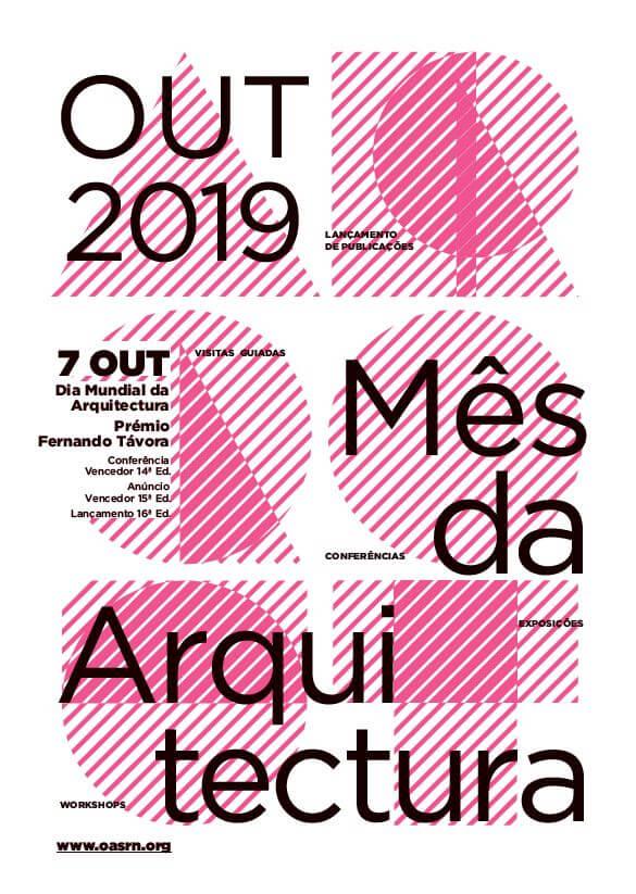8ª edição ARQ OUT 2019 | Mês da Arquitectura