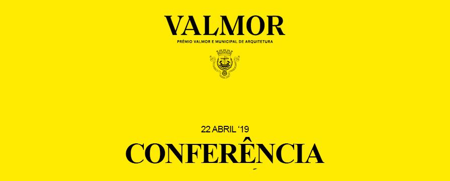 Conferência Vencedores Prémio Valmor 2017
