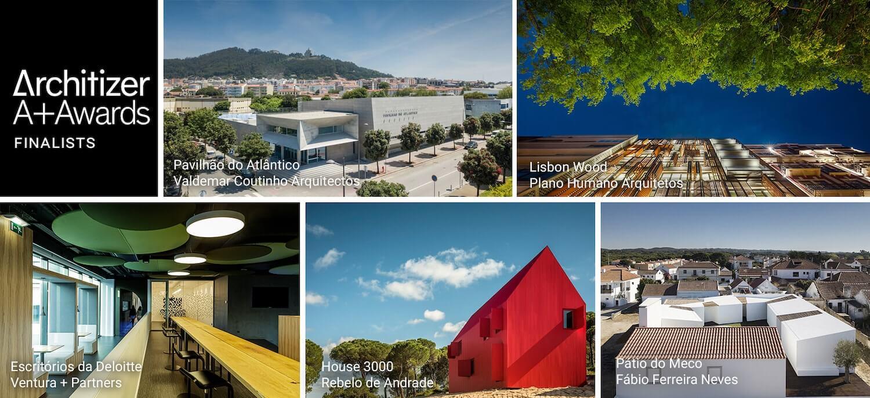 Cinco projetos portugueses nomeados para Prémios de Arquitetura Architizer 2019