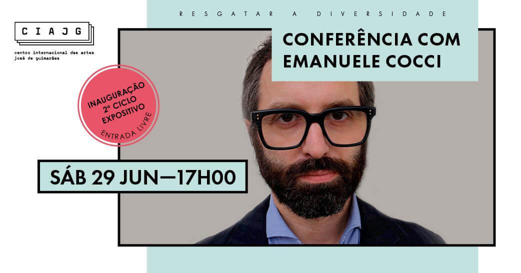 Conferência com Emanuele Coccia