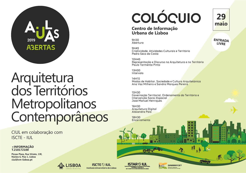 4ª edição do Colóquio Arquitetura dos Territórios Metropolitanos Contemporâneos