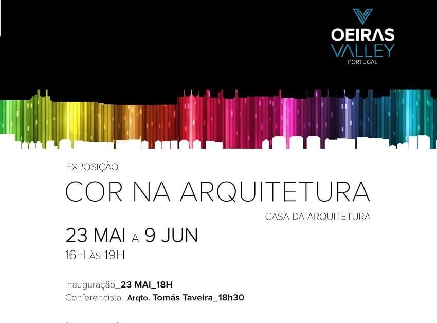 Exposição 'Cor na Arquitetura'