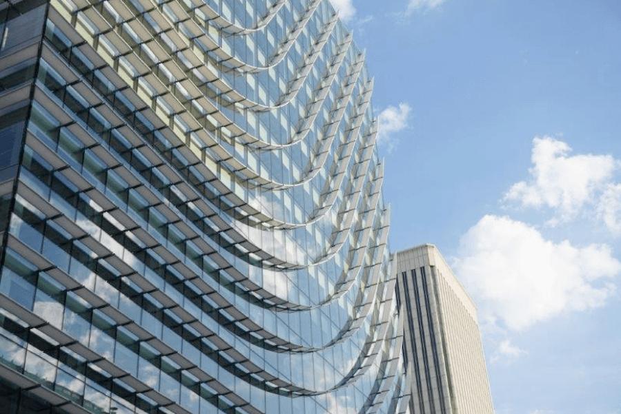 Castellana 77, um edifício sustentável com fachada de vidro Guardian Glass