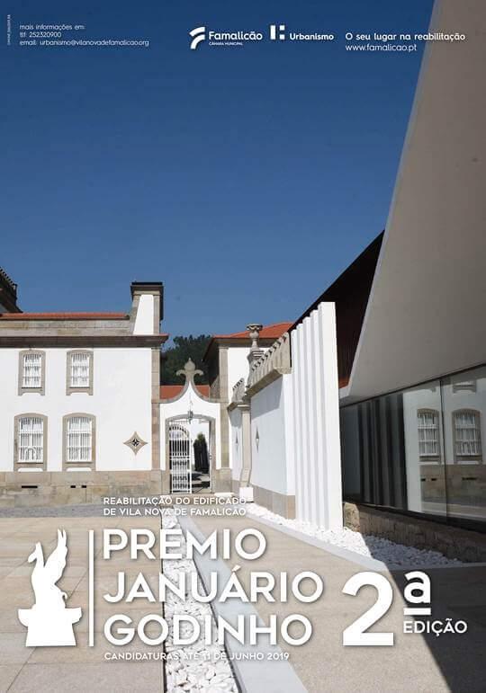 2ª Edição do Prémio de Arquitetura Januário Godinho