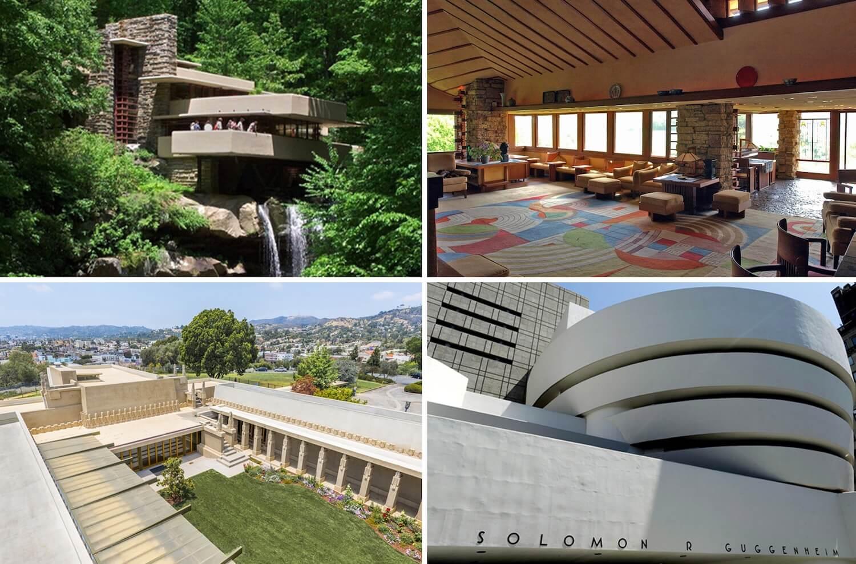 """""""Arquitectura orgânica"""" de Frank Lloyd Wright classificada como património mundial pela UNESCO"""
