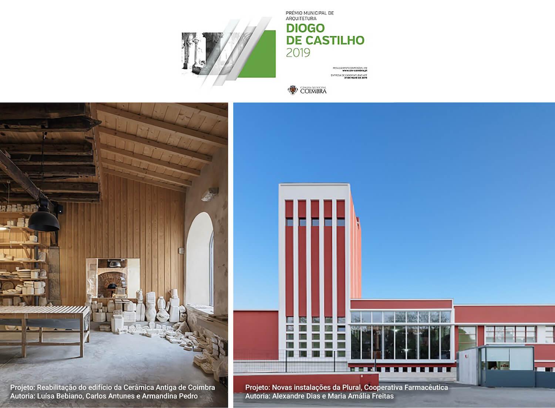 Prémio Municipal de Arquitetura Diogo de Castilho atribuído a dois projetos
