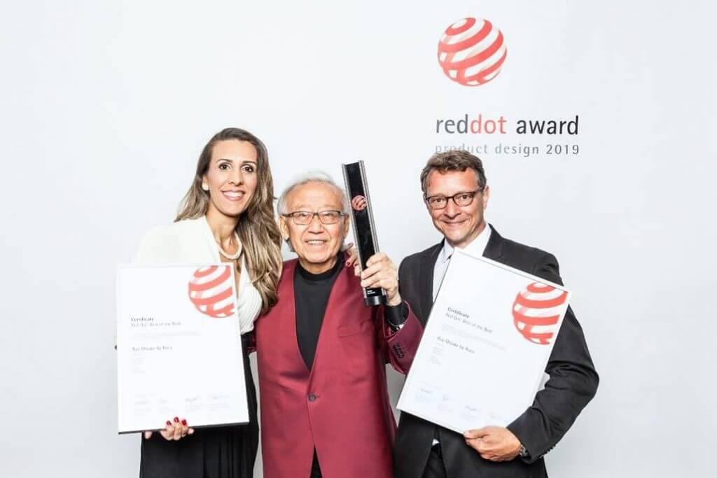 A Roca recebe o galardão máximo 'Best of the best' dos prémios de design Red Dot 2019  pela coleção de lavatórios desenhada por Ruy Ohtake