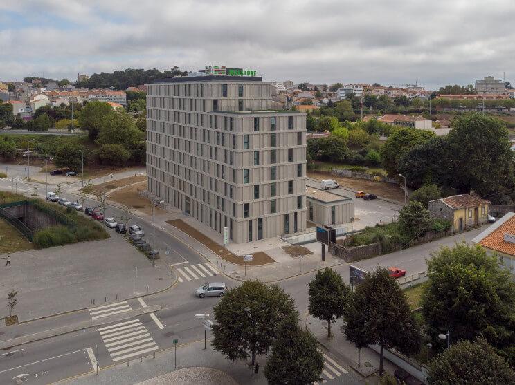 Concluída a nova residência universitária do Polo da Asprela da Universidade do Porto