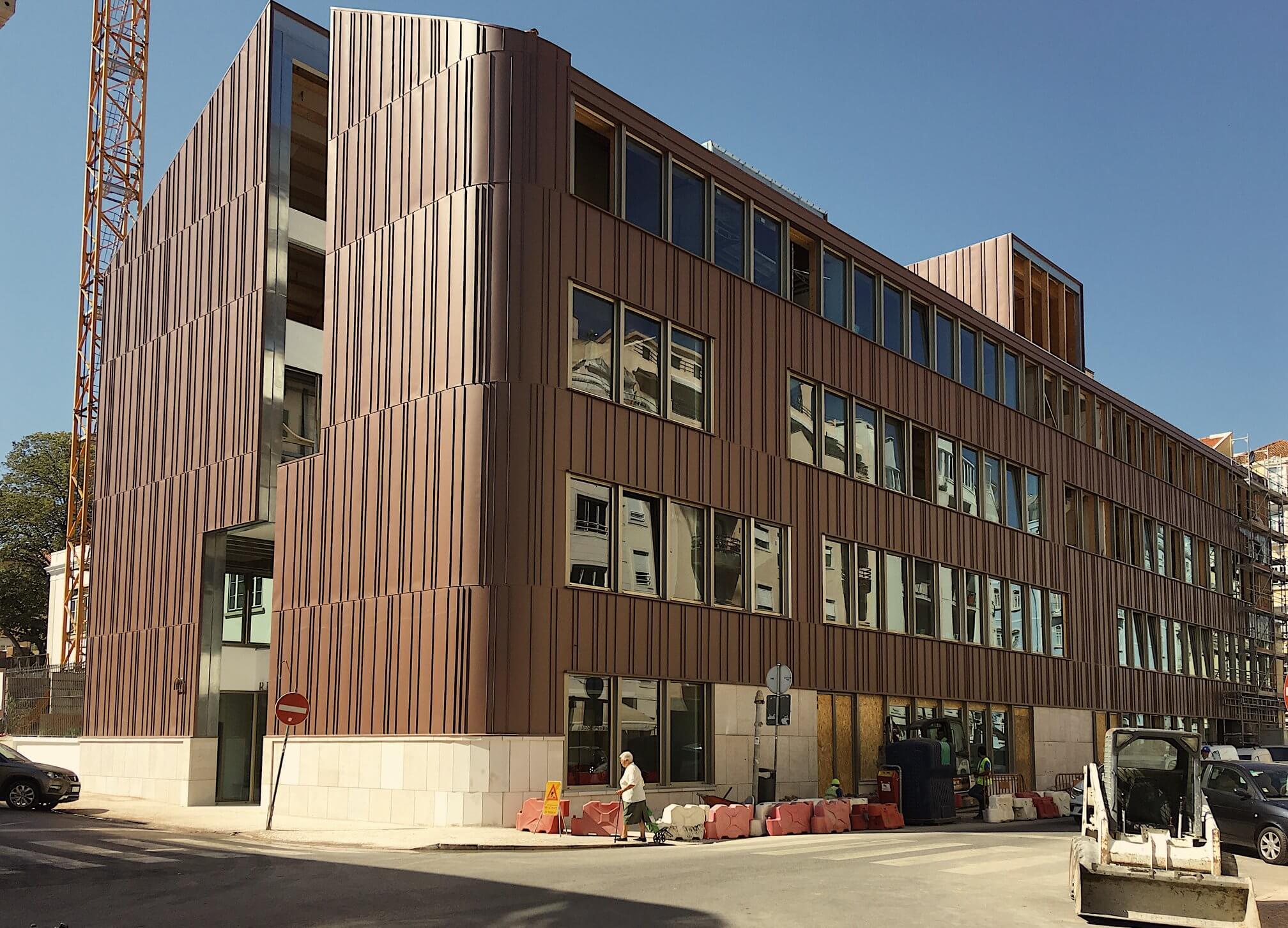 Maior edifício português em madeira com assinatura do atelier ARX