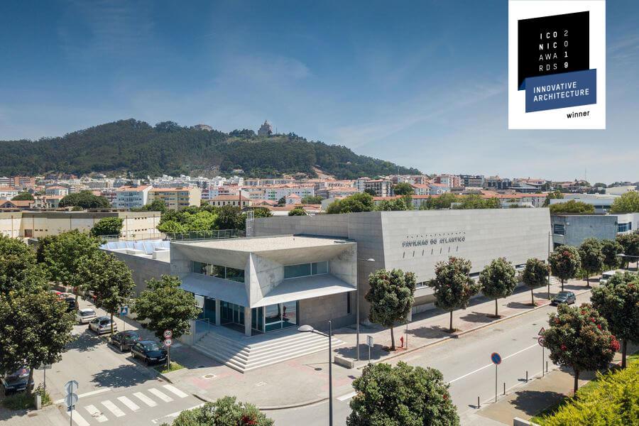 Pavilhão do Atlântico de Valdemar Coutinho Arquitectos vence Iconic Awards 2019