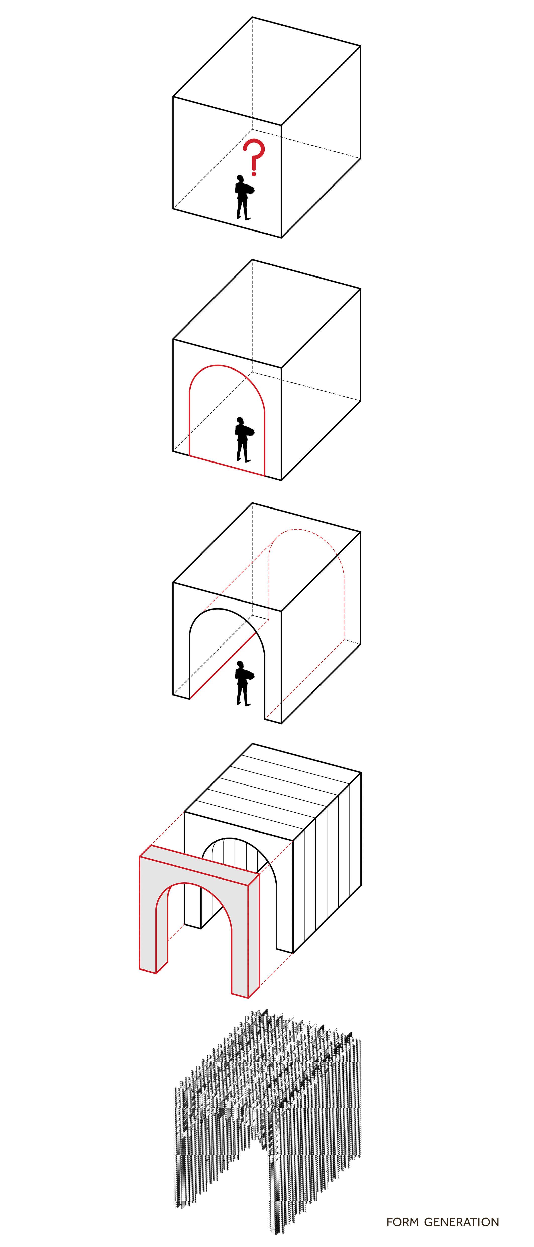 Unit+ Recycled Pavillion Kuwait City 2019 Diagram by Studio Toggle