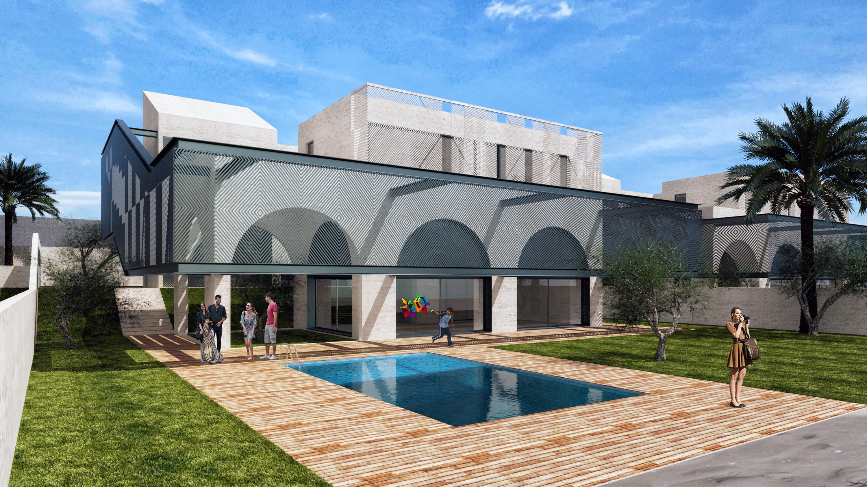 Marassi Villas B, Egypt by Studio Toggle