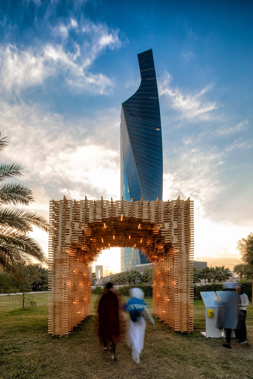 Unit+ Recycled Pavillion Kuwait City 2019 by Studio Toggle