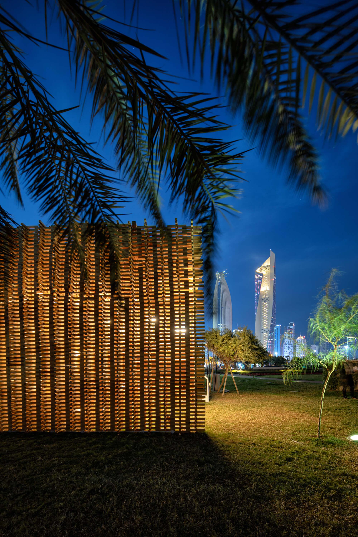Unit+ Recycled Pavilion Kuwait City 2019 by Studio Toggle