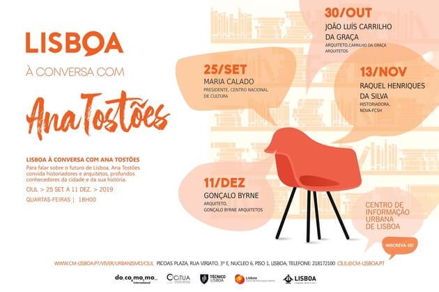 Lisboa à conversa com Ana Tostões