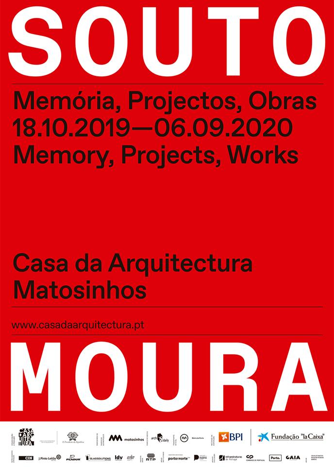 """Em outubro exposição """"Souto de Moura – Memória, Projectos, Obras"""" na Casa da Arquitectura"""