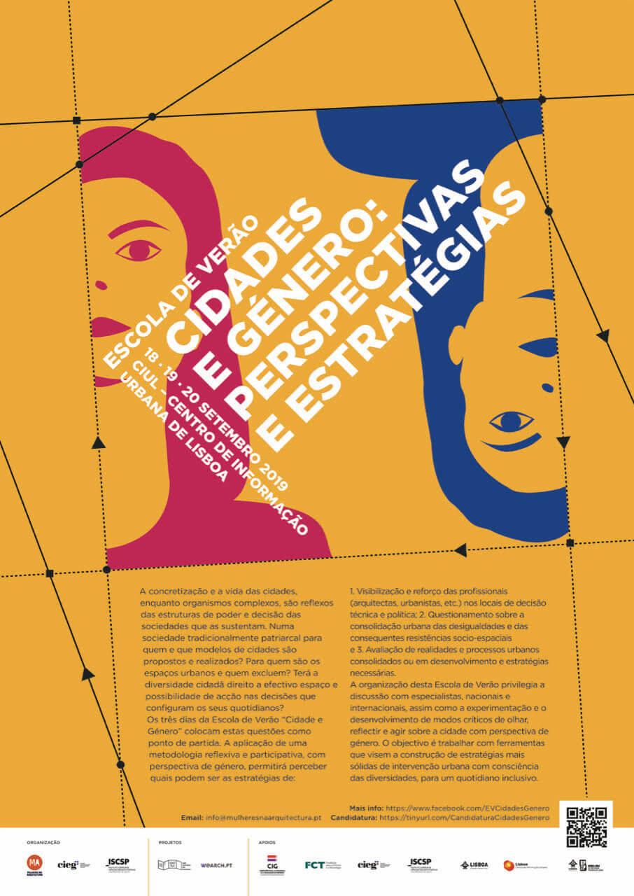 Escola de Verão Cidades e Género: Perspectivas e Estratégias