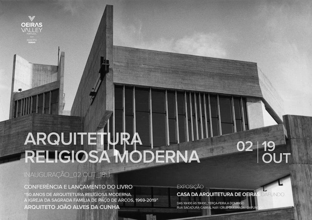 Exposição 'Arquitetura Religiosa Moderna'