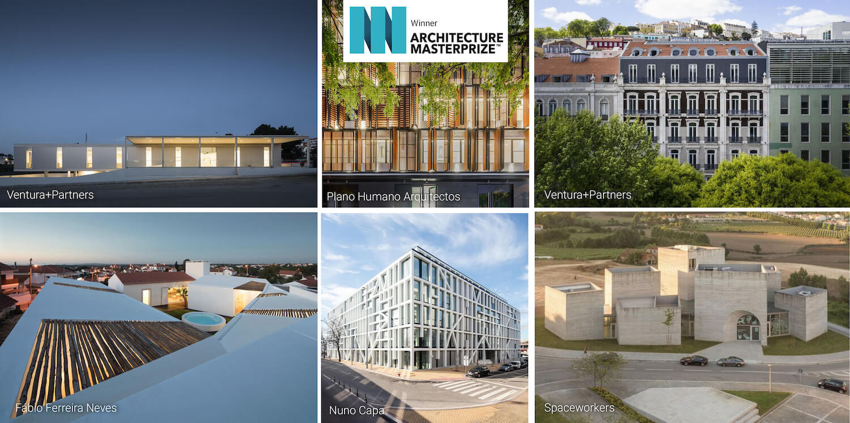 Projetos portugueses de arquitetura distinguidos nos Architecture MasterPrize 2019