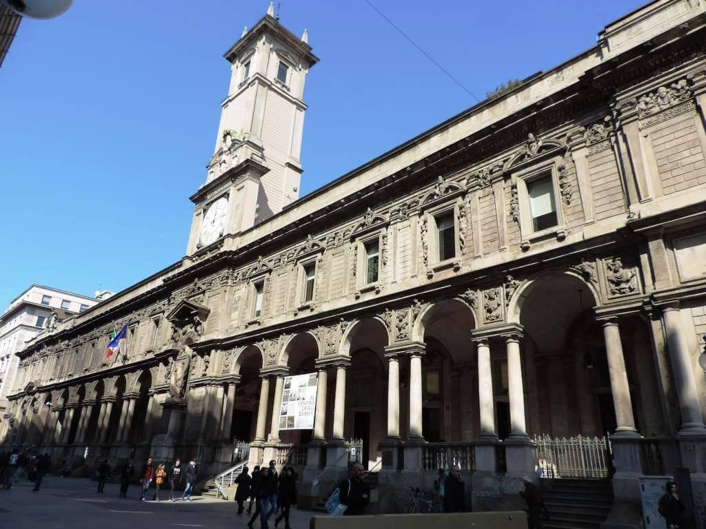 Requalificação do Palácio Affari ai Giureconsulti . Milão