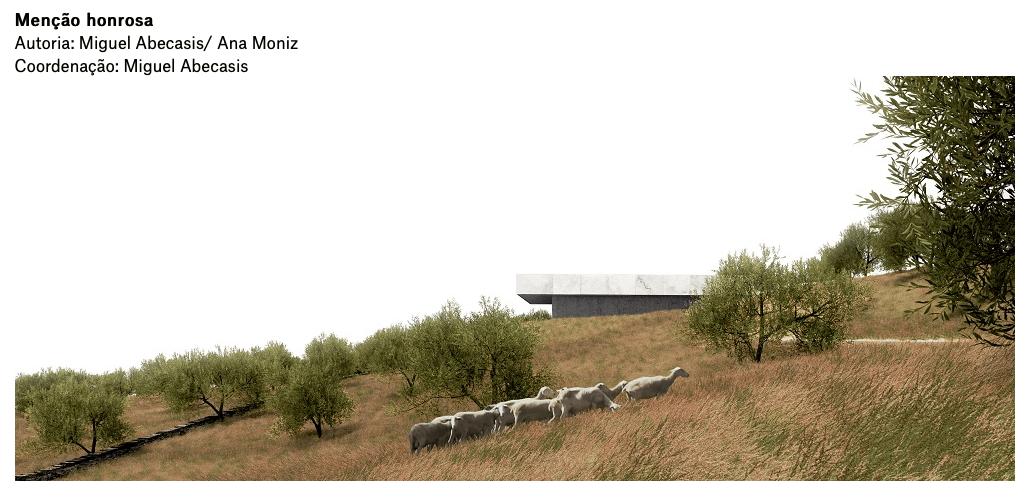 Mesa atelier vence concurso da Casa Mortuária de Barrancos
