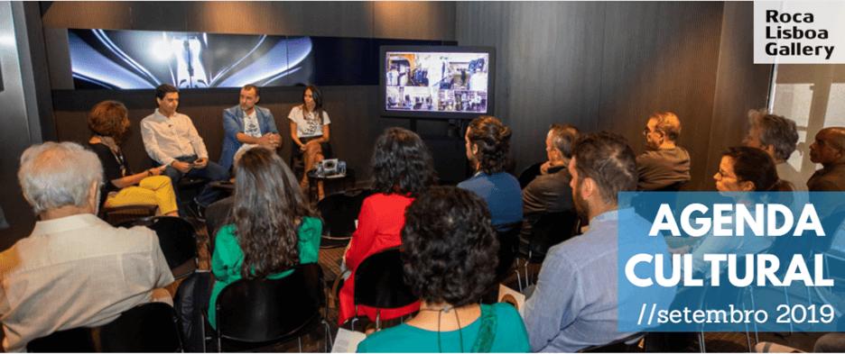 Setembro revela-se cheio de atividades no Roca Lisboa Gallery