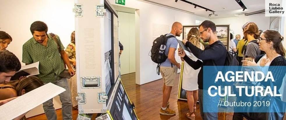 Agenda cultural Roca Lisboa Gallery outubro 2019