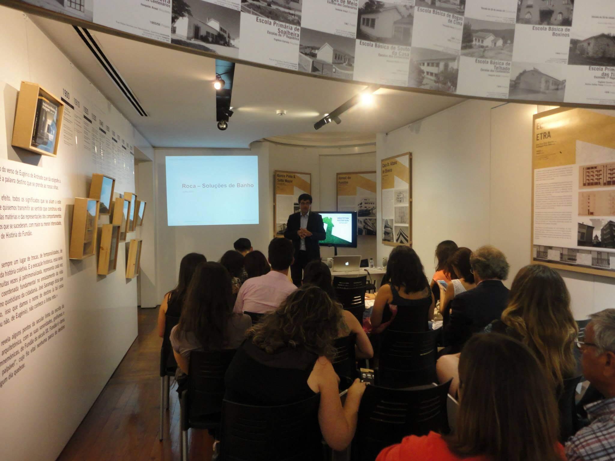Arquitetura Sustentável . Sessão Técnica com Jorge Mealha