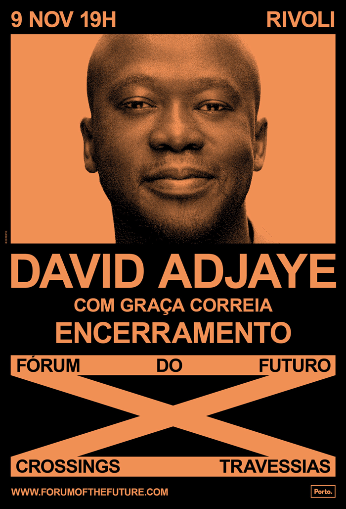 Conferência 'Identidades e Formas' com Sir David Adjaye