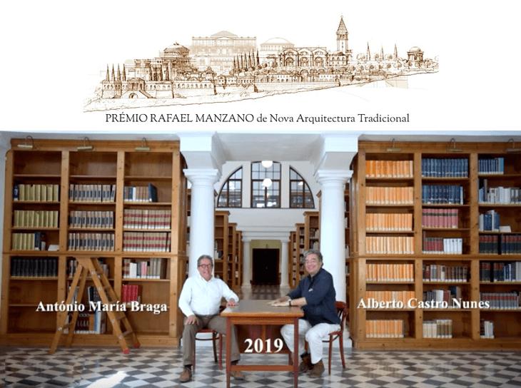 Prémio Rafael Manzano distingue arquitetos portugueses Alberto Nunes e António Braga