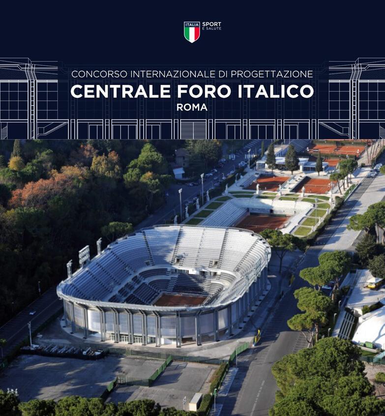Requalificação de complexo desportivo em Roma . Itália
