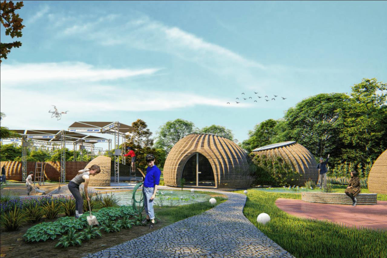 """Tecla, a """"eco-casa"""" impressa em 3D que já está a nascer em Itália"""