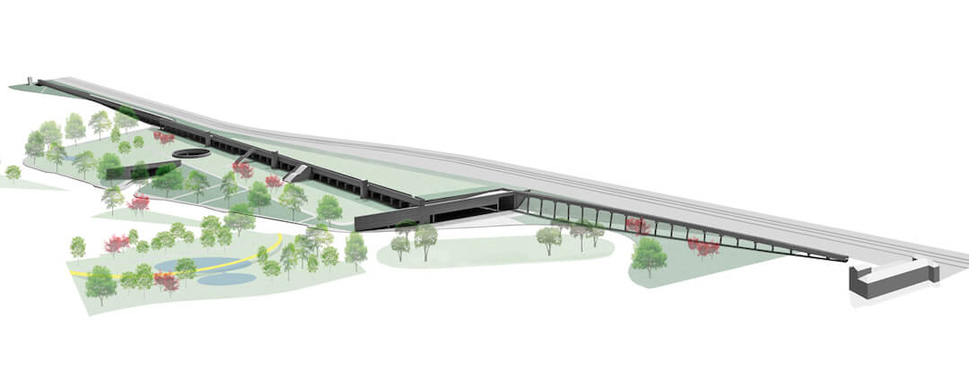 Terminal Intermodal de Campanhã vai fazer nascer 4,6 hectares de área verde