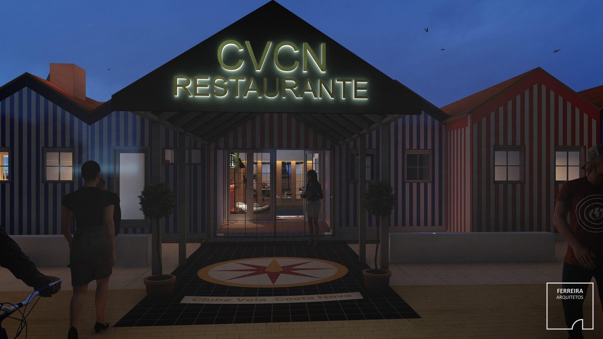 Restaurante CVCN | Anteprojeto