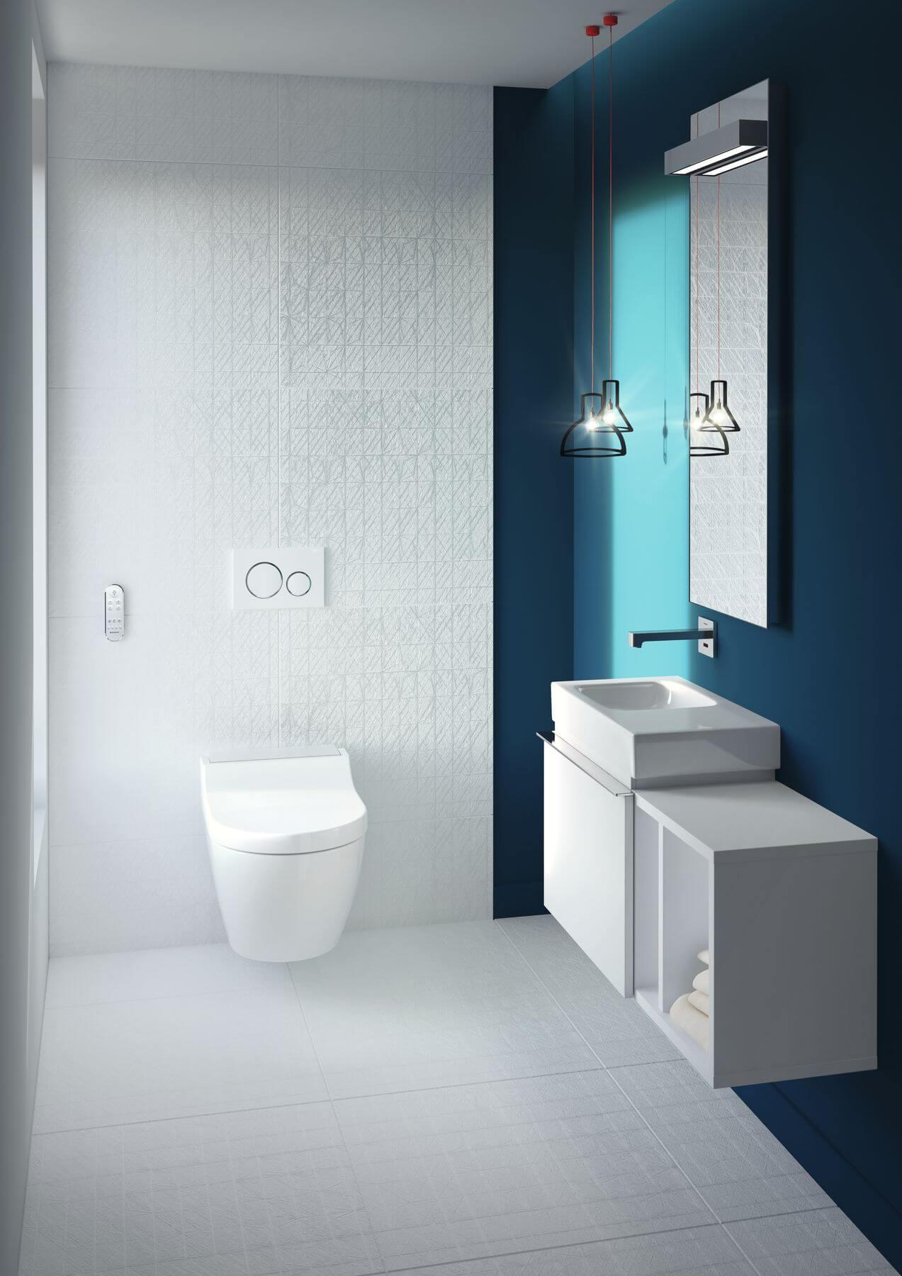 Soluções Geberit para melhorar a sua casa de banho pequena na próxima remodelação