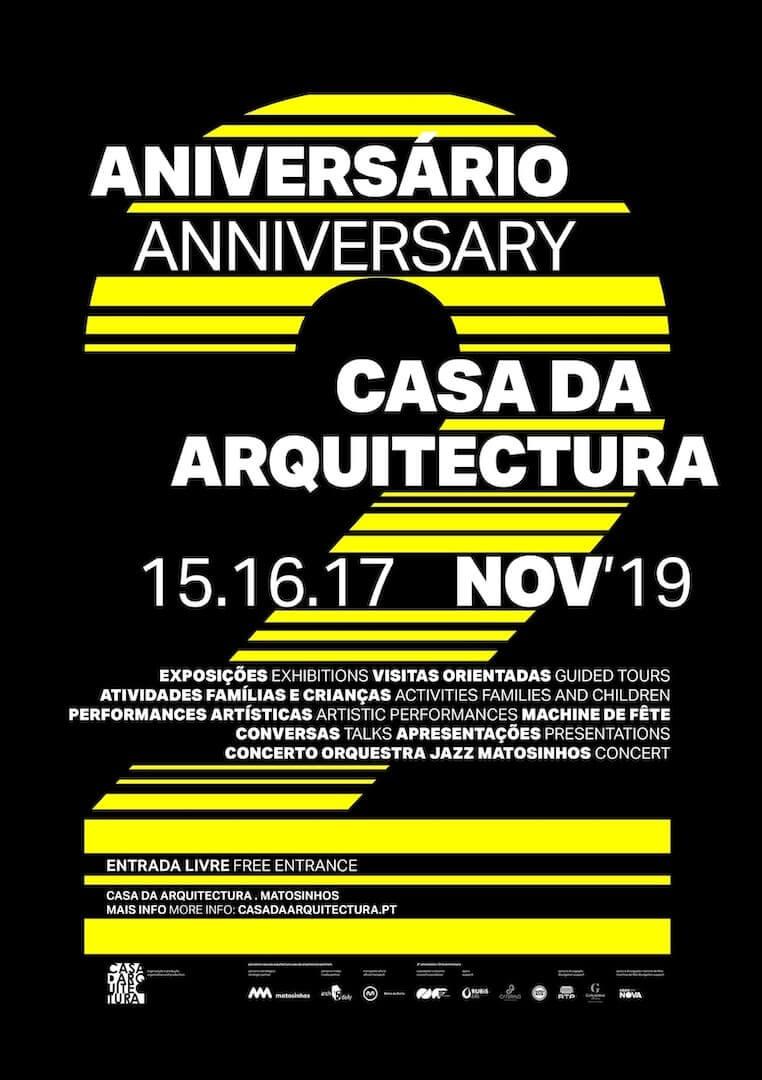 Casa da Arquitectura celebra aniversário com 3 dias de festa