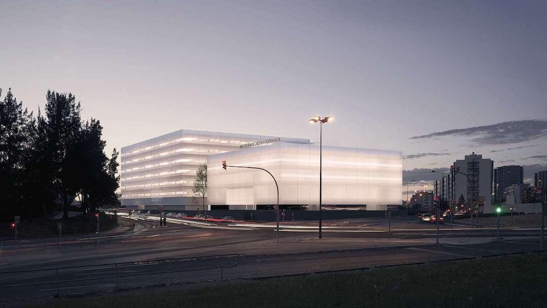 Católica alarga campus em Lisboa com projeto da autoria do arquiteto Carrilho da Graça