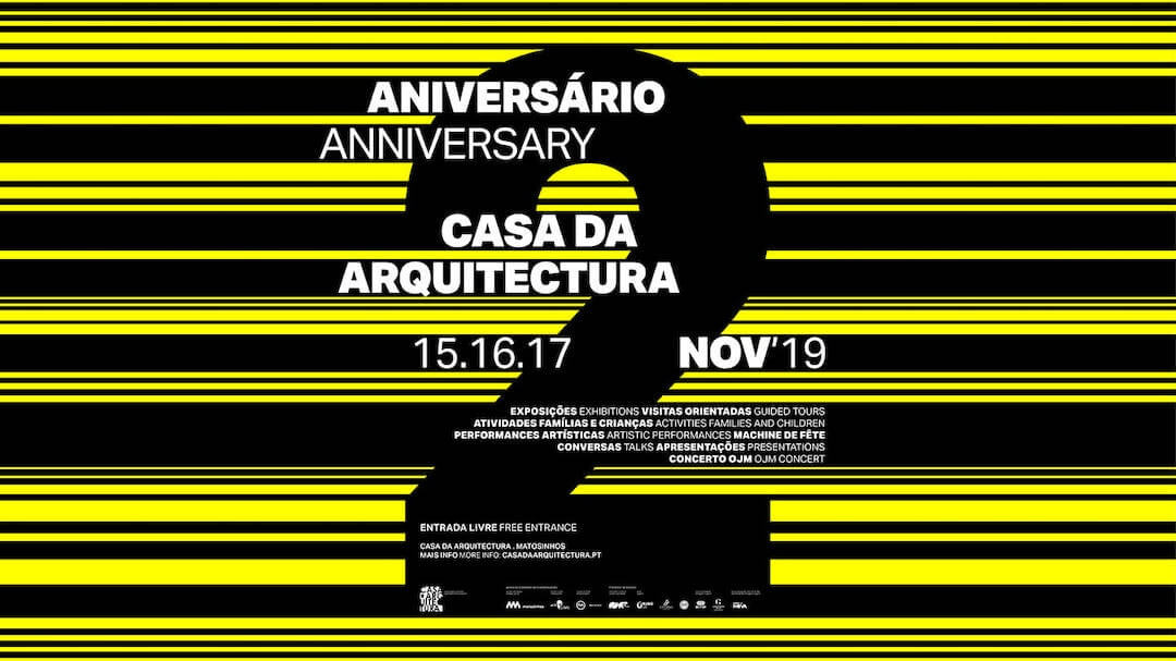 Comemorações do 2º aniversário da Casa da Arquitectura