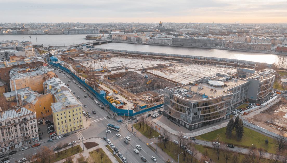 Parque Urbano . São Petersburgo