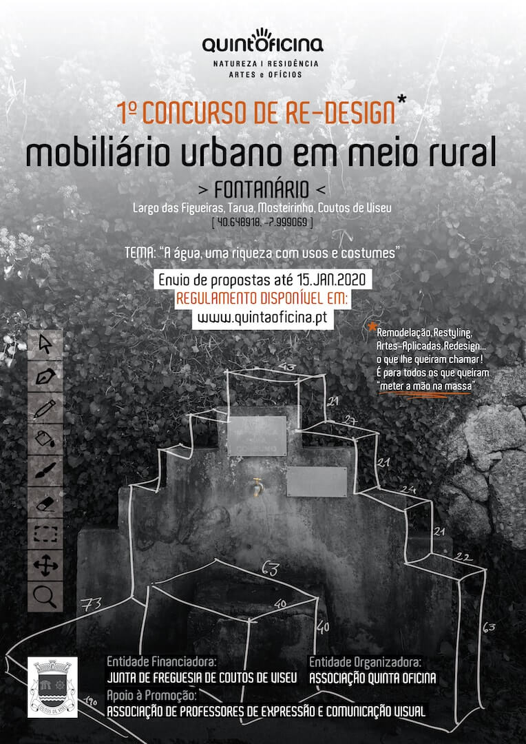 Concurso de Re-Design de Mobiliário Urbano em Meio Rural