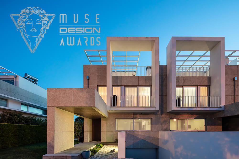 Valdemar Coutinho Arquitectos distinguido nos Muse Design Awards 2019